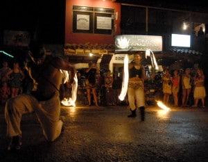 Montezuma Fire Dancing in the Street